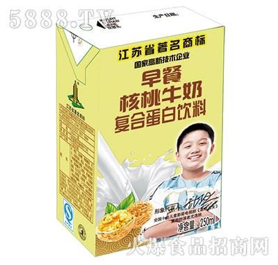 伟楼阳光早餐核桃牛奶(内盒)250ml