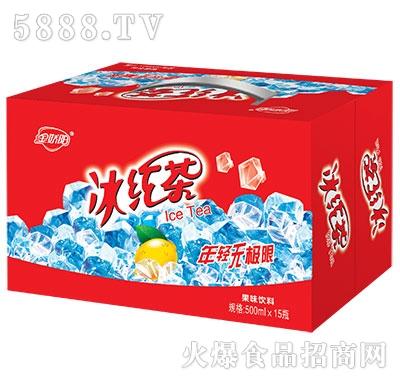 金娇阳冰红茶箱子500mlx15瓶