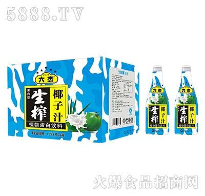 六杰生榨椰子汁1.25kgx6瓶