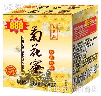 长生堂菊花蜜植物饮料1.5Lx6瓶