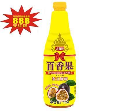 大富桂百香果汁1.5L