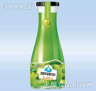1L嘉天下果汁系列发酵苹果醋