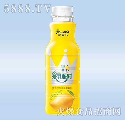 460ml嘉天下果乳派对芒果