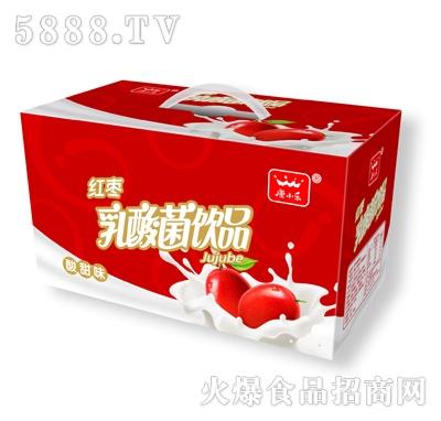 康小乐红枣乳酸菌16杯礼品装
