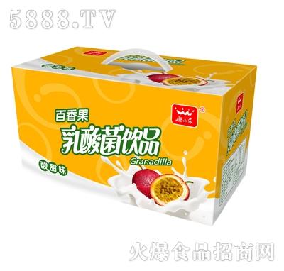 康小乐百香果乳酸菌16杯装礼品盒
