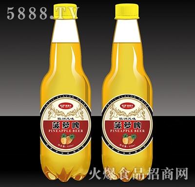 握握手菠萝啤瓶530ml