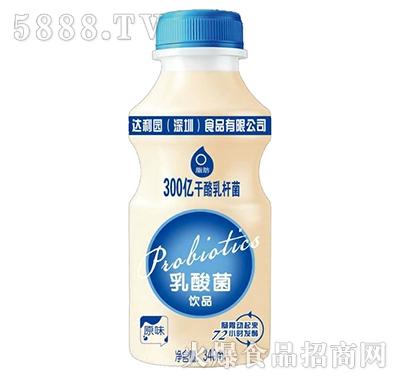 达利园乳酸菌饮品原味340ml