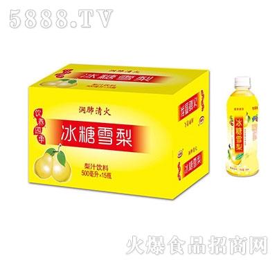 冰糖雪梨梨汁500mlx15瓶