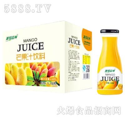 冰纷清纯芒果汁1LX6