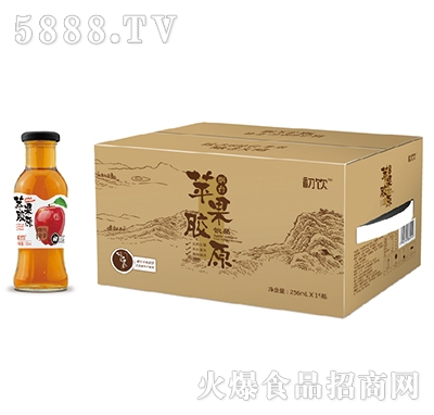 初饮苹果胶原饮品256mlx15瓶