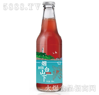 初饮烟台山下山楂鲜汁300ml