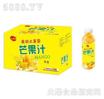怡果缘芒果汁500mlx15瓶