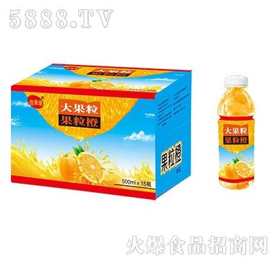 怡果缘大果粒果粒橙500mlx15瓶