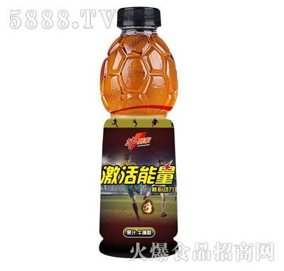 牛到家激活能量果汁牛磺酸饮料(瓶装)