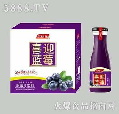 美格丝蓝莓汁饮料1.5Lx6