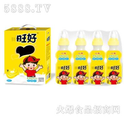 鲜旺好奶嘴瓶香蕉味乳酸菌200mlX16