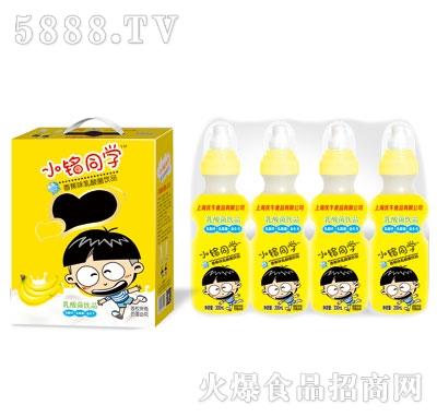 优牛小铭同学奶嘴瓶香蕉味乳酸菌200mlX16