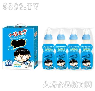 优牛小铭同学奶嘴瓶原味乳酸菌200mlX16