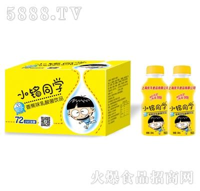 优牛小铭同学香蕉味乳酸菌340mlX12