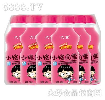 优牛小铭同桌草莓味乳酸菌340mlX12