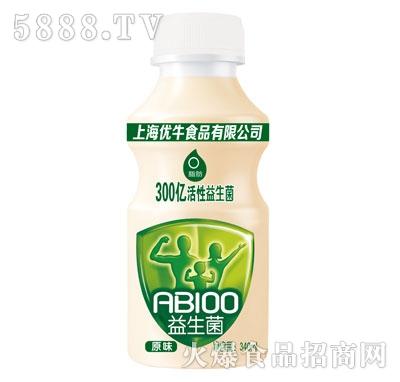 优牛益生菌原味乳酸菌饮品340ml