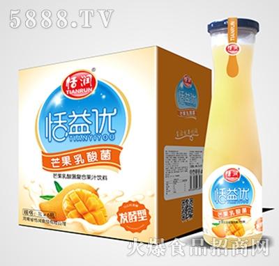 恬润恬益优芒果乳酸菌1Lx6瓶