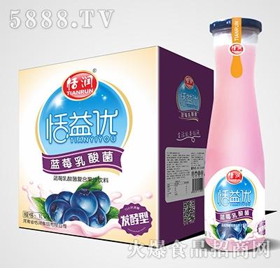 恬润恬益优蓝莓乳酸菌1Lx6瓶