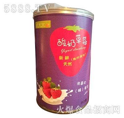 酸奶草莓罐头425克净含量产品图