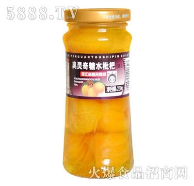 奥灵奇250g糖水枇杷罐头