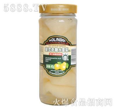 奥灵奇450g糖水雪梨罐头