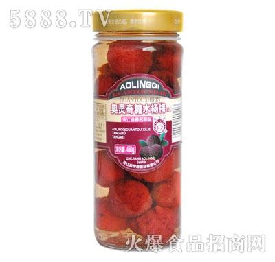 奥灵奇450g糖水杨梅罐头