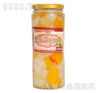 奥灵奇650g什锦水果罐头