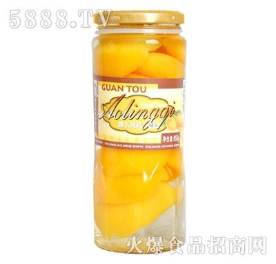 奥灵奇650g糖水黄桃罐头