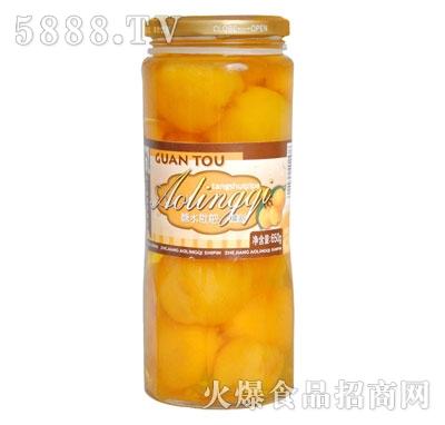 奥灵奇650g糖水枇杷罐头