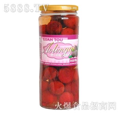 奥灵奇650g糖水杨梅罐头