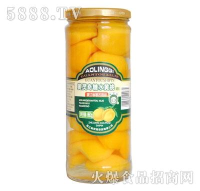 奥灵奇950g糖水黄桃罐头