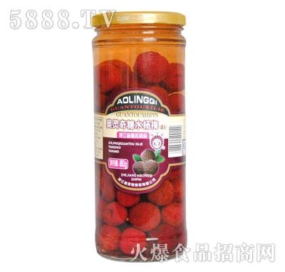 奥灵奇950g糖水杨梅罐头