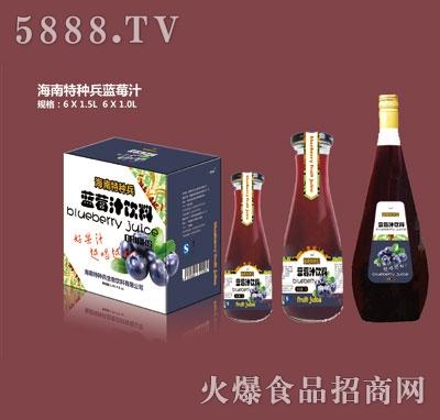 海南特种兵蓝莓汁