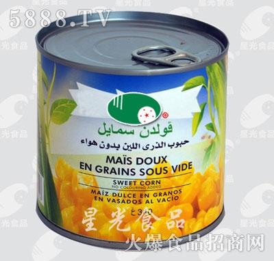 星光食品甜玉米罐头(绿)产品图