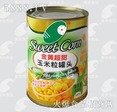星光食品玉米罐产品图