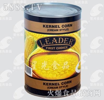 星光食品玉米糊罐头产品图