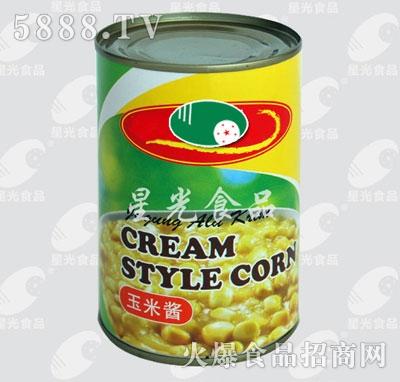 星光食品玉米酱产品图