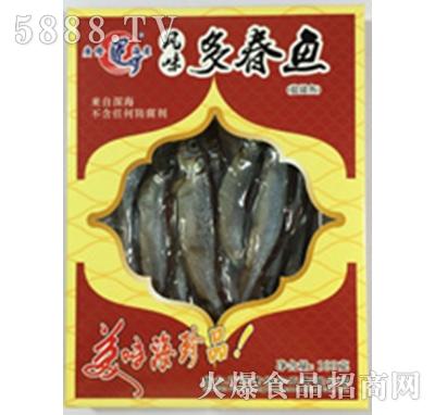 广隆风味多春鱼产品图