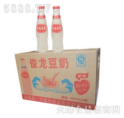 俊龙豆奶(杯装早餐粥)320mlx24瓶