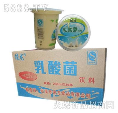 俊龙乳酸菌饮料(杯装早餐粥)280mlx30杯