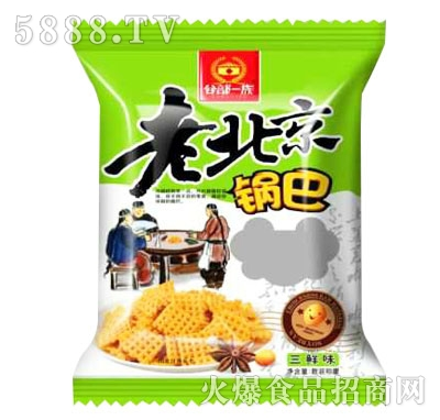 谷部一族老北京锅巴三鲜味