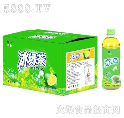统一印象冰绿茶茉莉花味500ml(箱)