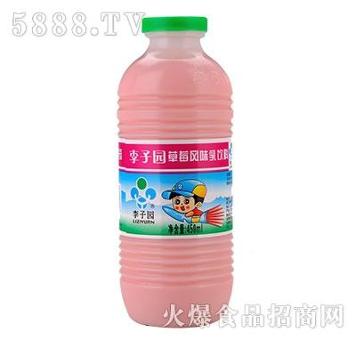 李子园甜牛奶草莓味450ml