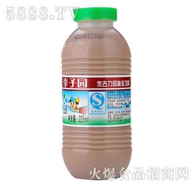 李子园甜牛奶朱古力225ml