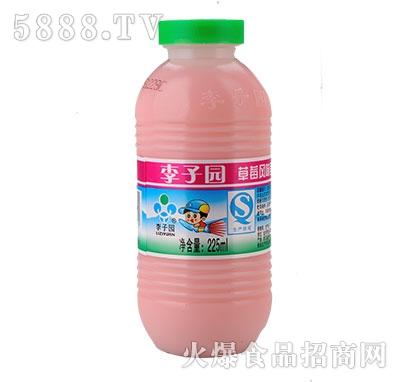 李子园甜牛奶草莓味225ml